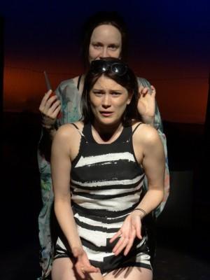 Mathilda Combing Cindy's Hair